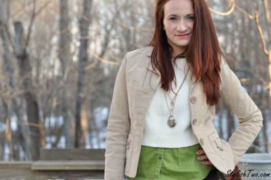 Stylish Two - Cropped Sweater