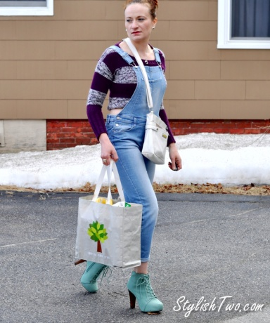 Spring 2015 Fashion Trend: How to Wear Overalls @StylishTwo.com