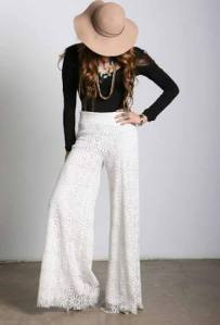 Palazzo Pants in Natural by The Trend Boutique