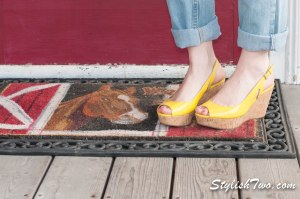 Nothing says spring/summer better then a great pair of wedges! Yellow is hot this year so go bold!