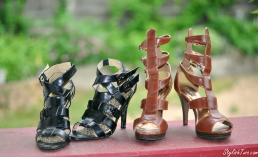 Don't think the gladiator trend ends with flats! A pair of gladiator heels are my answer to everything this summer!