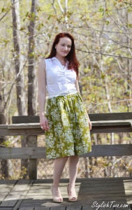 How to Wear Fashion Trend Midi Skirt at StylishTwo.com