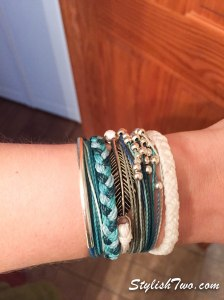 Right now I'm loving my puravida bracelets and they pass security with a breeze!
