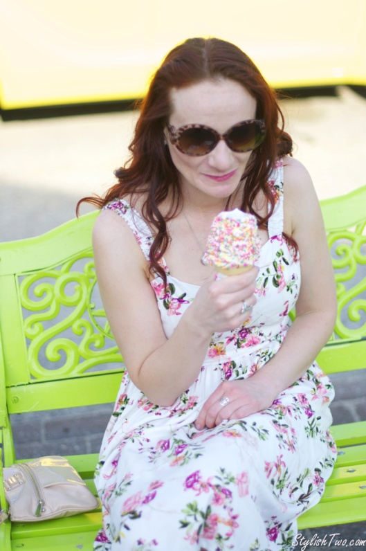 Summer was made for Sundresses and Ice Cream.  Enjoy!
