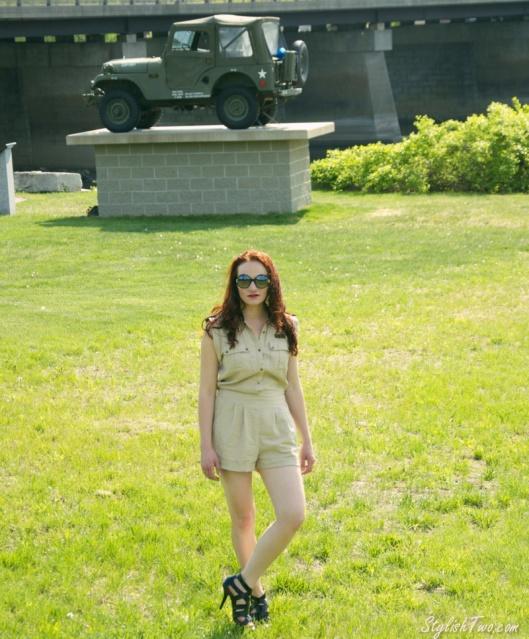 Military Romper