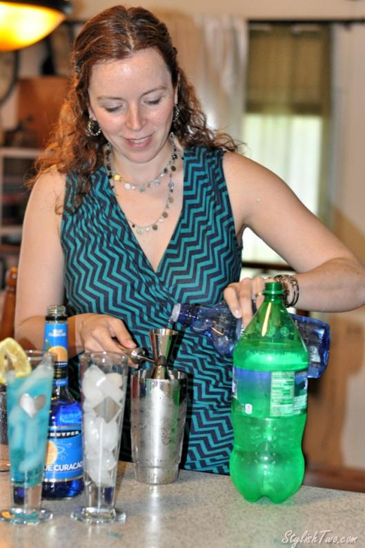 Summer Cocktail Series - Blue Breeze